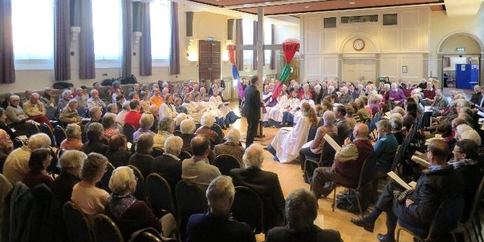 January Corn Exchange Unity Sunday service