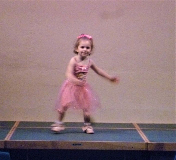 "Layla K dancing to ""Under the Sea"""