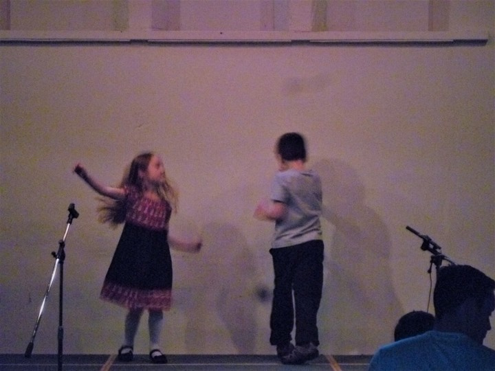 "Kristin & Ethan dance to music from ""The Lego Movie"""