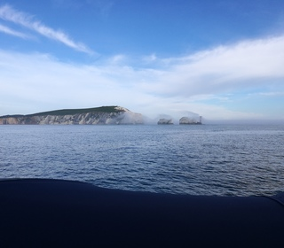 Fog over the Needles - 1 of 3