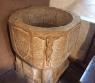The Font in the old Church