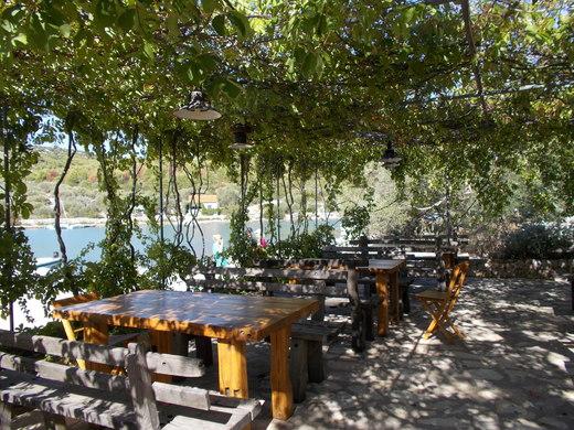Restaurant at the top of Laka Telascia