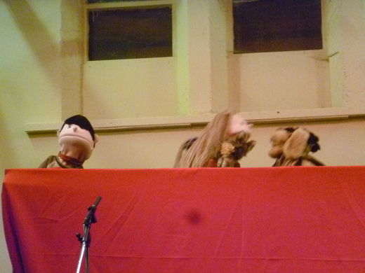 The puppets find out that it is not good to be a bully.