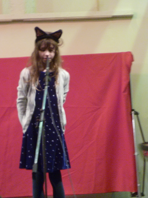 Layla sings her solo
