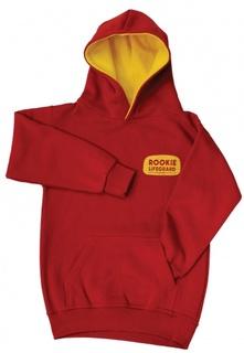Rookie hoodie front
