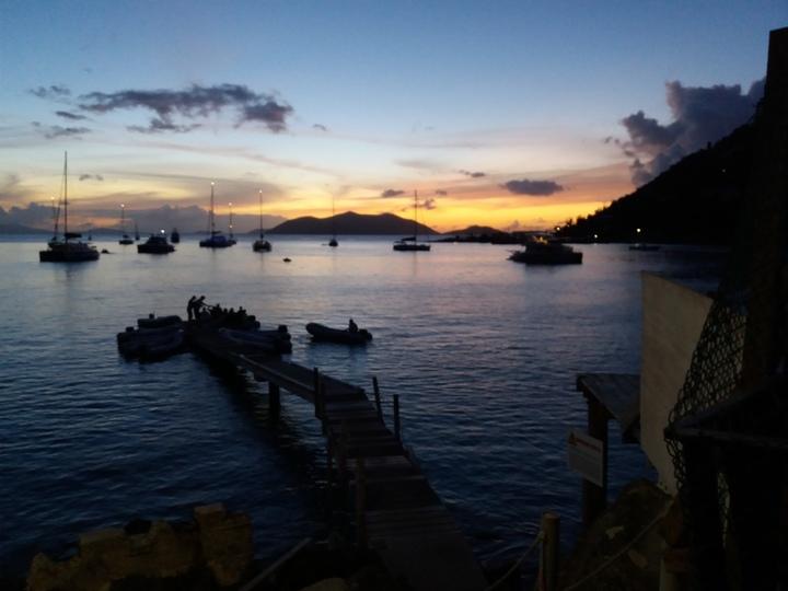 Tortola - Cane Garden Bay sunset