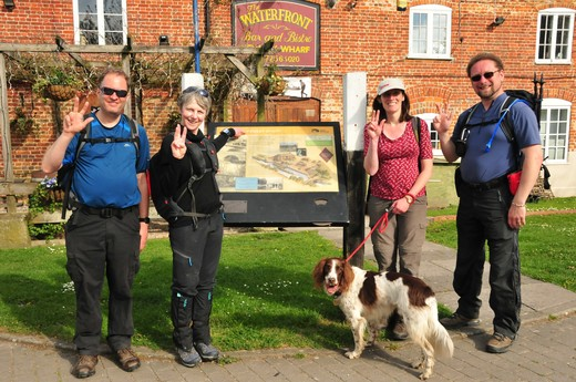 End of Day 3 Pewsey Wharf