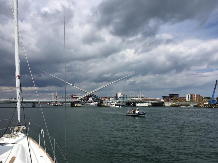 Second bridge opening Poole