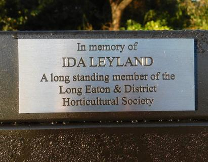 In Memory of Ida Leyland