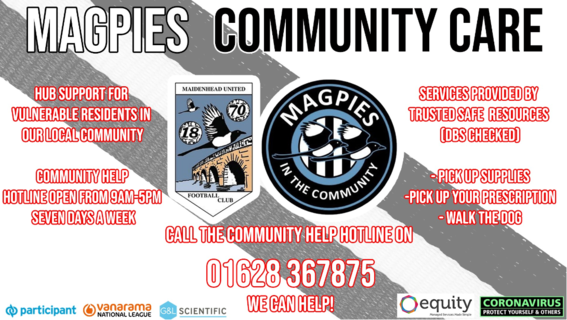 Magpies Community Care Helpline