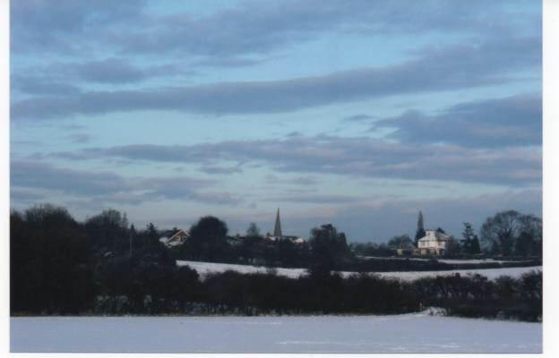 Bradmore under blanket of snow