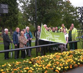 West Park Green Flag Award 2015/6