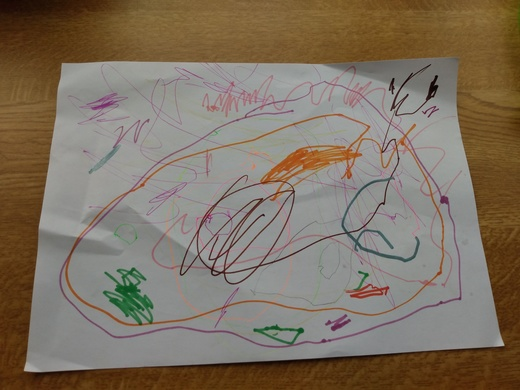 Garden Picture from Alice age 2 (Kirk Hallam)