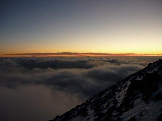 Sunset at Ben Nevis from Matt (Long Eaton)