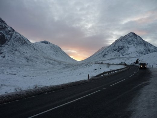 Sunset in Glen Coe from Matt (Long Eaton)