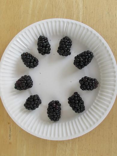 9 Blackberries from Tony (Long Eaton)
