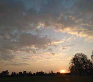 West Park Sunset from Helen (Long Eaton)