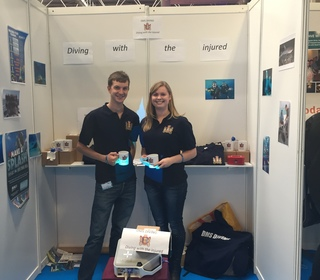 Dive Show 2015 club stand